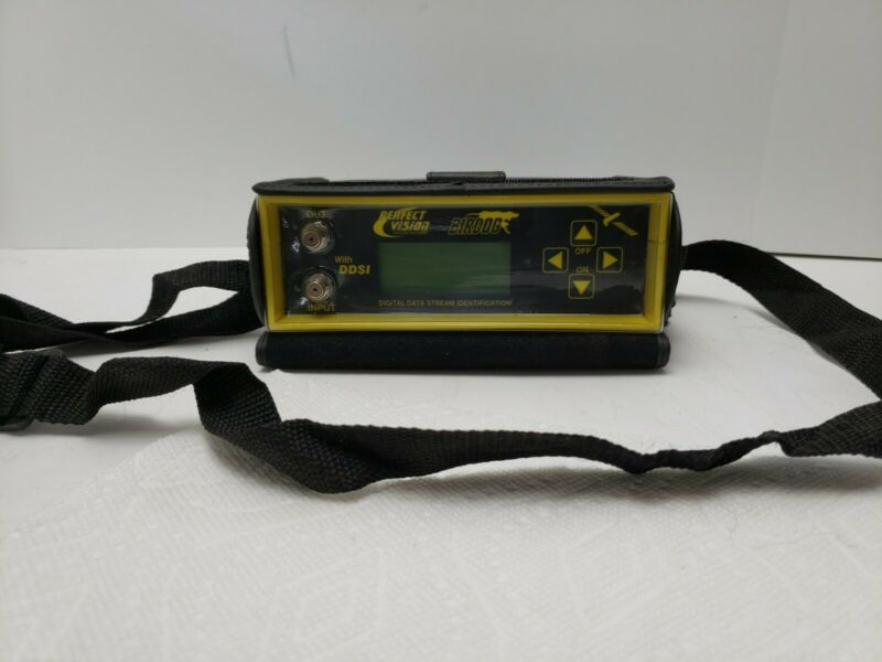 Perfect Vision Bird Dog Satellite Meter W/Carrying Case, Instructions and Cables
