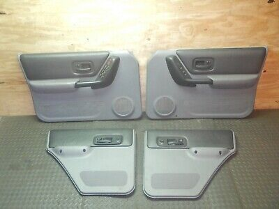 Jeep Cherokee XJ 97-01 Complete Interior Door Panel Set Mist Gray FREE SHIPPING