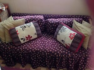 Cane and cushion couch hardly used Marrickville Marrickville Area Preview