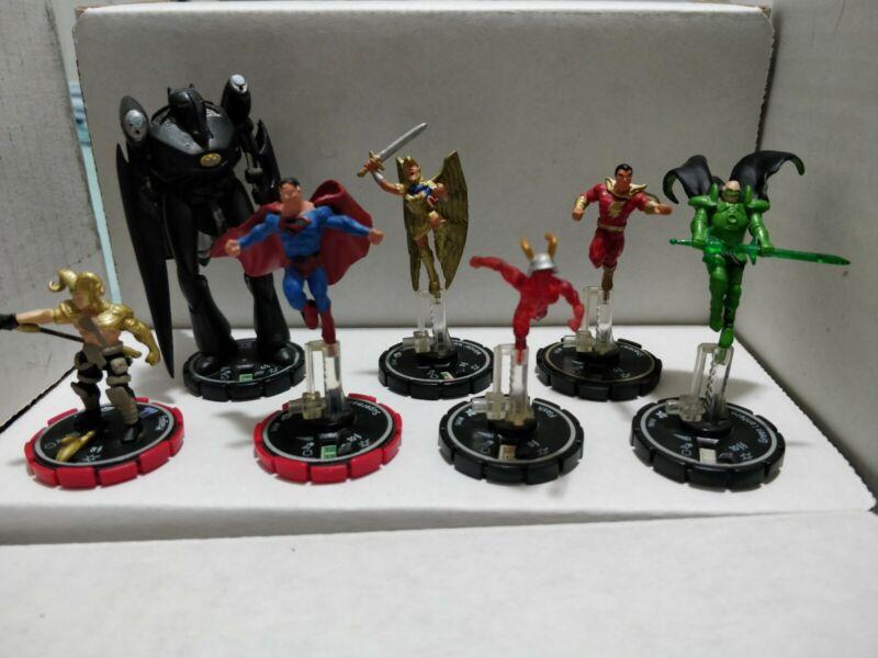 Heroclix Kingdom Come Lot. Green Lantern, Flash, Superman, Shazam, Magog, WW.