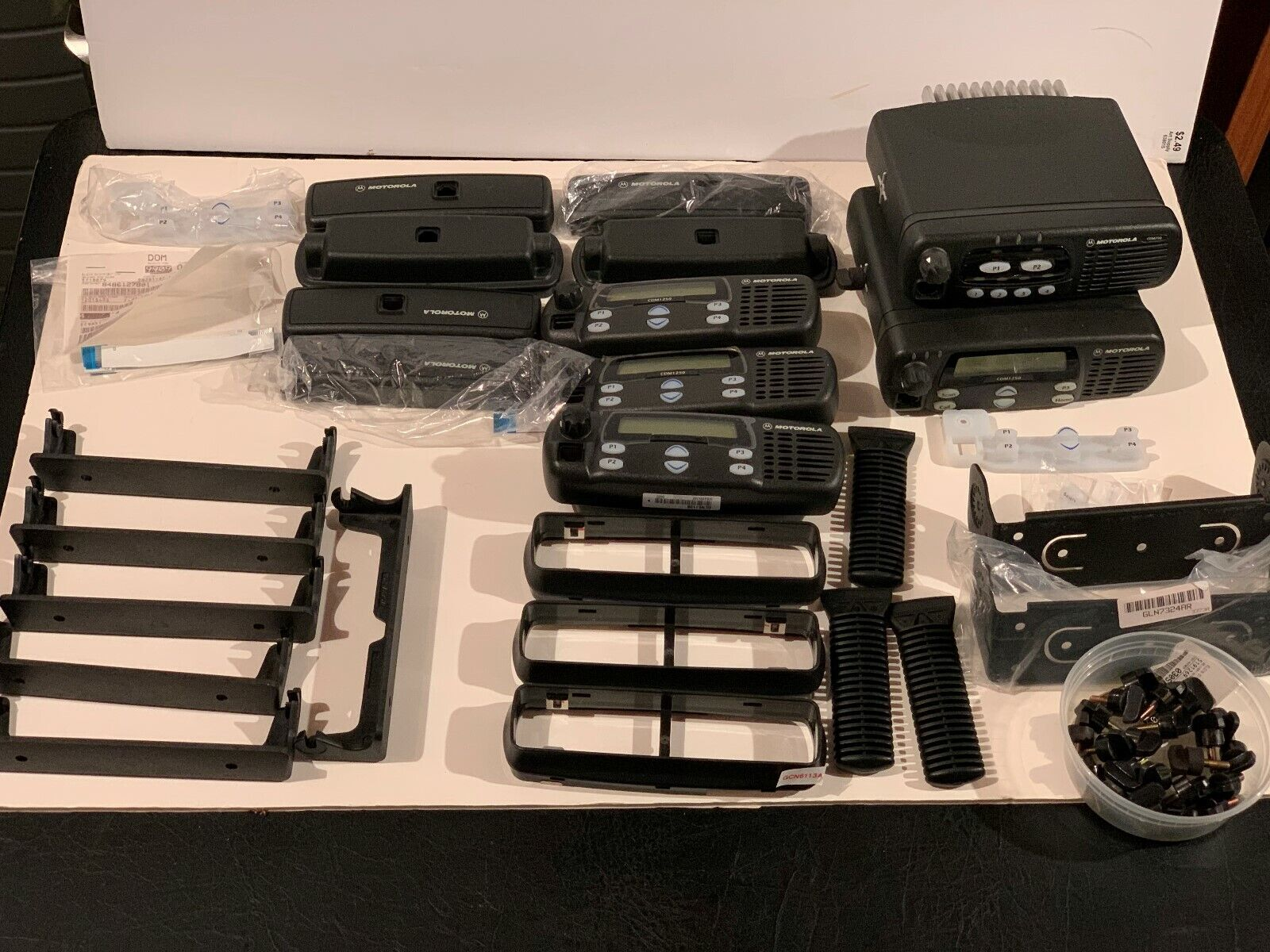 MOTOROLA CDM 1250 AND ACCESSORIES. Buy it now for 290.00