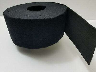 "VELCRO® Brand Reusable ONE-WRAP® Strap Dbl Sided 4"" x12ft.  Black"