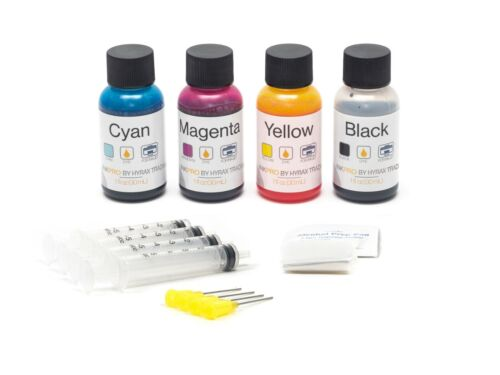 InkPro Premium Combo Ink Refill Kit for HP 60/61/62/63/64/65/XL 30ml/1oz