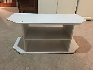 TV Cabinet (White Wood) Wembley Cambridge Area Preview