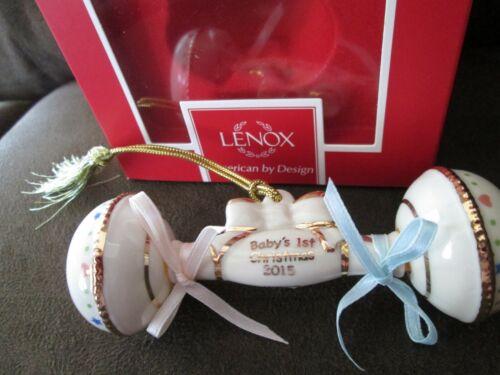 LENOX $60 Porcelain China 2015 Unisex Baby