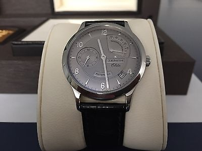Zenith Elite Reserve De Marche 38mm stainless steel