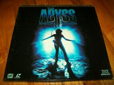 THE ABYSS 3-Laserdisc LD BOXED SET SPECIAL EDITION WIDESCREEN FORMAT VERY RARE!