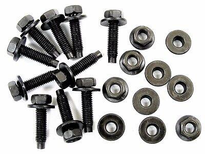 GM Bolts & Flange Nuts- M5-.80 x 20mm Long- 8mm Hex- 20 pcs (10ea)- #383