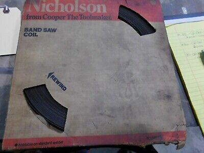 New Unused Nicholson Band Saw Coil 37