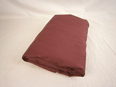 Company Store 300Tc Wrinkle Free Sateen Ftd Sheet Long Tw Loganberry  1291S E5g2