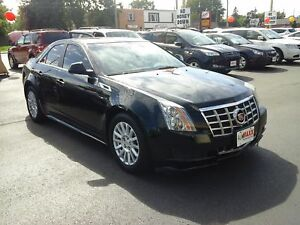 2013 CADILLAC CTS BASE- PANORAMIC SUNROOF, LEATHER HEATED SEATS,