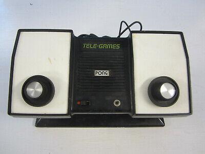 ORIGINAL 1970's ATARI PONG TELE-GAMES VIDEO GAME SYSTEM CONSOLE