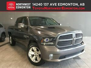 2013 Ram 1500 Sport | Leather | Sunroof | UConnect | Box Cover |