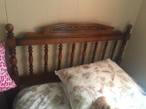 Antique Three Quarter Bed
