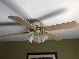 52 inch Hampton Bay ceiling fan for sale $50