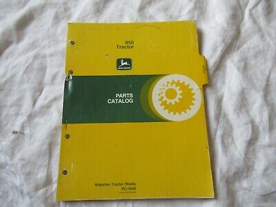 John Deere 950 Tractor Parts Catalog Book Manual