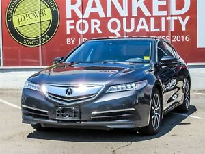 2015 Acura TLX Tech NAVIGATION, LEATHER, PANORAMIC ROOF, BLIN...