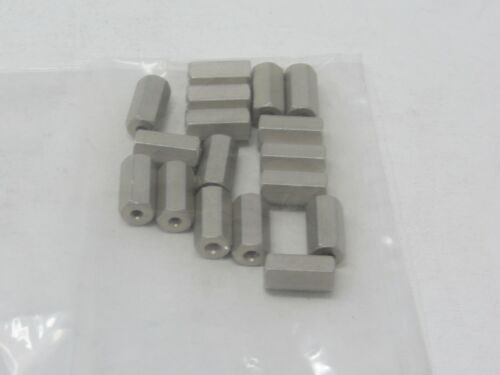 Threaded Spacer, Lot of 17 #1220H-A.625-15