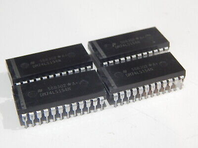 NAT MM74HC154N MC74HC154N 24 PIN DIP LOT OF 2 IC/'S USA SELLER FAST SHIPPING