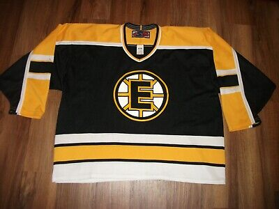 8d2be4a77 GAME USED BOSTON BRUINS LOOKING MINOR LEAGUE HOCKEY JERSEY MENS XL (56) BY  SP