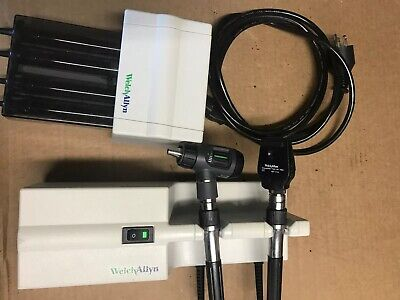 Welch Allyn 767 Series Oto-ophthalmoscope Transformer W Heads Univ Kleenspec