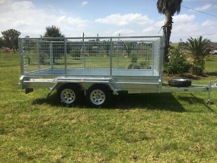 12x6 Galvanised Tandem Box Trailer 1000mm Cage Heavy Duty 2900kg Kemps Creek Penrith Area Preview
