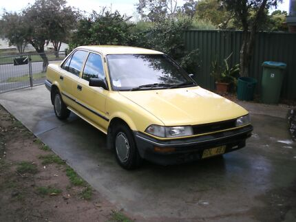 Toyota Corolla Qualifies for historic rego, may swap