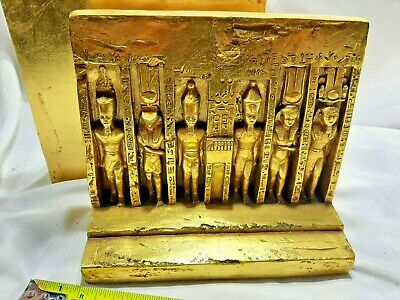 Artisans Guild International AGI Egyptian statues, bookends museum quality 2 pc