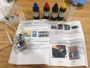 Epson Workforce / XP continuous ink system