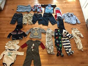 Baby boy clothes 3-6month lot