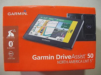 Garmin DriveAssist 50 NA LMT Built-In Cam and Bluetooth 010-01541-01