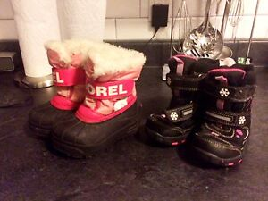 Winter boots toddler size 7