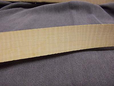 Curly Maple Wood Veneer Strip 1-316 X 8 1