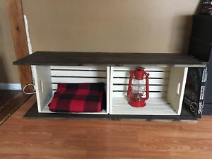 Brand new Crate Bench