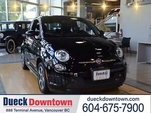 2015 FIAT 500E NAVIGATION - LEATHER