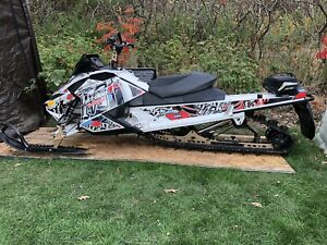 2012 Skidoo Freeride 154 long track back country low km white