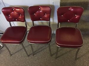 3 Vintage Style Chairs