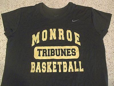 MCC MONROE COMMUNITY COLLEGE TRIBUNES NIKE FIT BASKETBALL ATHLETIC SHIRT-WOMEN L