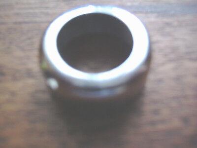 MGB Bisel Cromado de la Cerradura Guantera Chrome Glove box Lock Bezel