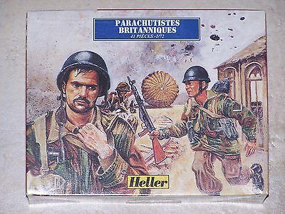 HELLER FIGURINES 1/72ème PARACHUTISTES BRITANNIQUES
