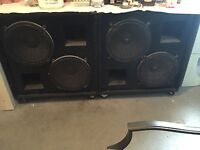 Stage bass bins for sale