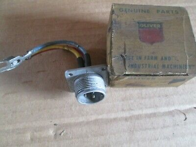 Oliver Tractor 667788 Brand New Hydra-lectric Connector Solenold Nos
