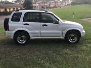 1999 Suzuki Grand Vitara 5 Speed 4X4 Wagon Kellyville The Hills District Preview