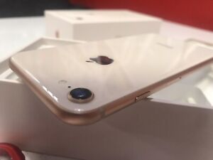 iPHONE 8, 64GB ROSE GOLD, OUTSTANDING CONDITION + EXTRAS - SEE AD