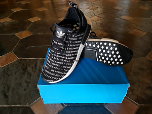Adidas NMD R1, Blackout. US 10.5 Warragul Baw Baw Area Preview