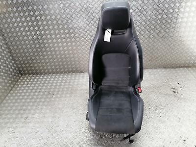 MERCEDES C CLASS COUPE W204 DRIVER SEAT HALF LEATHER 2011-2015 +Warranty