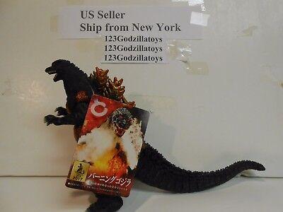 """New Burning Godzilla 2017 Movie Monster Series w/Tag Japan Bandai """"US Seller"""""""