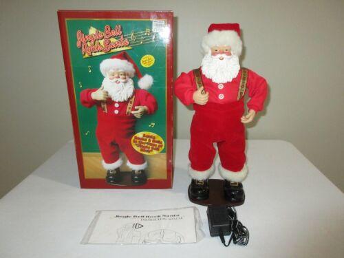 Jingle Bell Rock Santa Animated Musical Dancing Santa Claus 1998 Fantasy Ltd