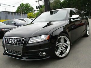 2012 Audi S4 S4 ~ RED LEATHER INT ~ 107,000 KM ~ SUNROOF !!