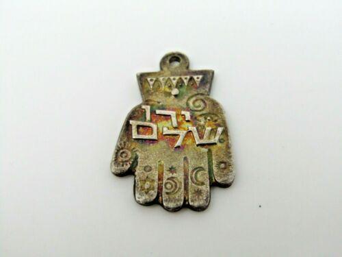 Hamsa Jewish Pedant Vintage Excellent Design Made in Israel